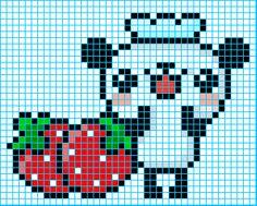 Drawn pixel art graph paper On deviantART Graph by Panda