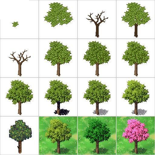 Pine Tree clipart pixel art Pinterest @DeviantArt Cool deviantart Best