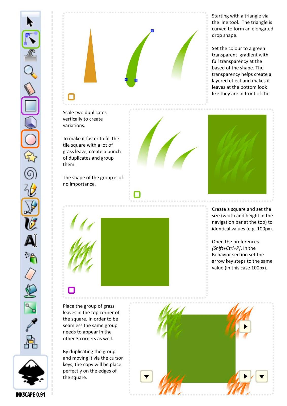 Drawn pixel art grass Game DesignPixel 2D Art for