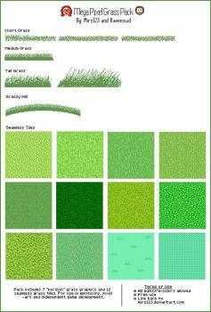 Drawn pixel art grass Pixel Pixel Grass Tutorials 87