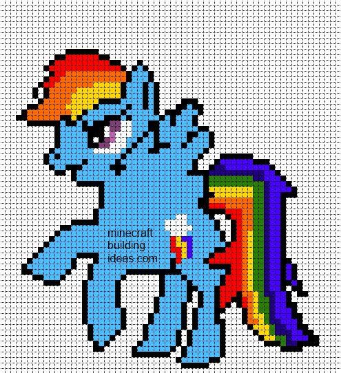 Drawn pixel art grid Pixel Templates: Art best Pony