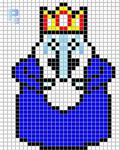 Drawn pixel art grid adventure time Para pattern Plantillas Sprites Adventure