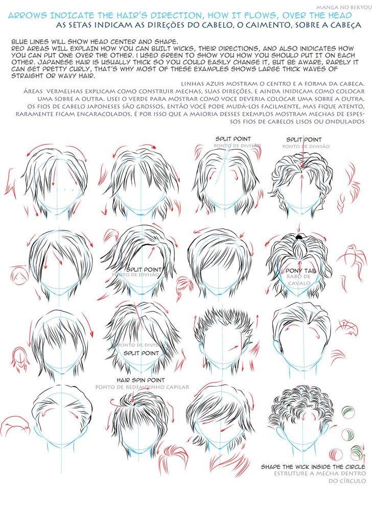 Drawn pixel art hair D1344ui Best GuideDrawing Ref images