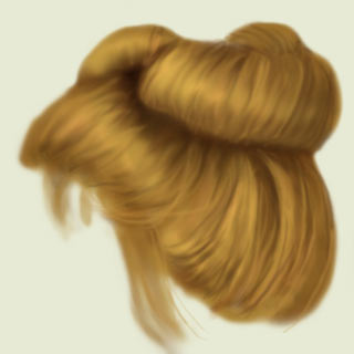 Drawn pixel art hair Tutorial Photoshop a  to