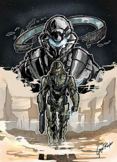 Drawn pixel art halo 5 Halo Halo Guardians 5 and