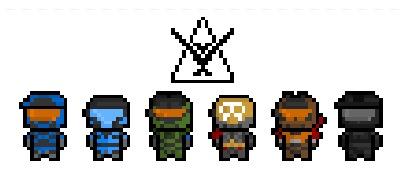 Drawn pixel art halo 5 Pinterest Halo 8 Spartans Bit