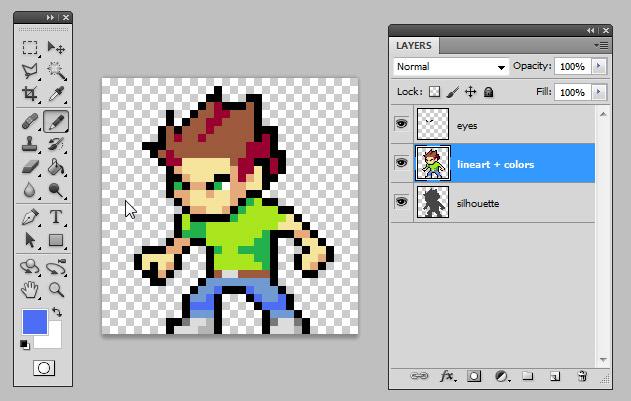 Drawn pixel art hard For Shading to Art Pixel