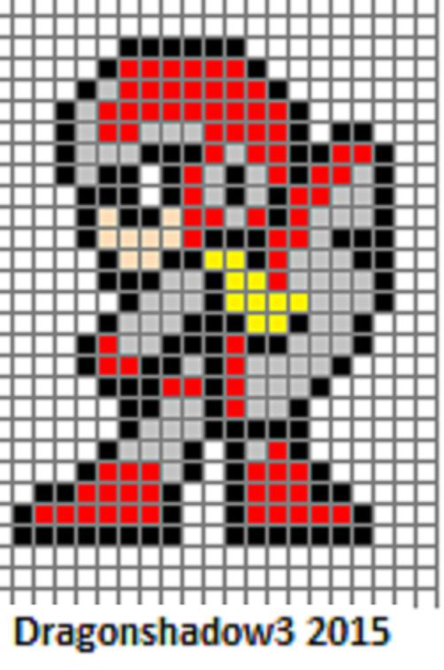 Drawn pixel art heart grid Pixel @DeviantArt com com