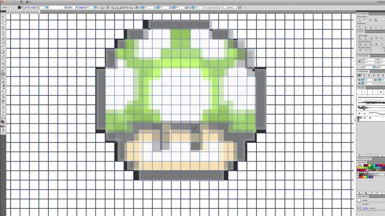Drawn pixel art illustrator Pixel Illustrator Pixel art Adobe