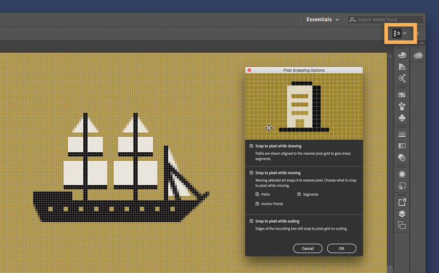 Drawn pixel art illustrator Pixel Create Draw pixel time