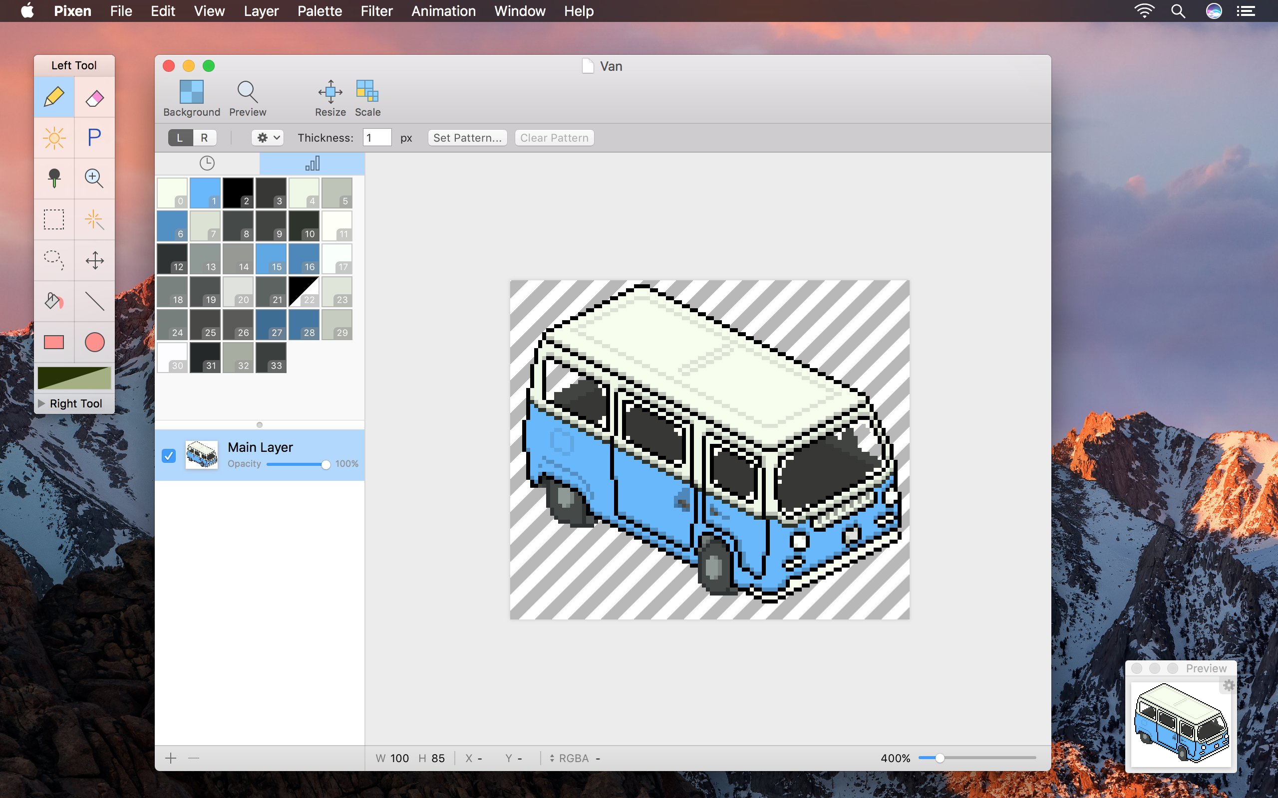 Drawn pixel art iphone And editor Animations Pixen a