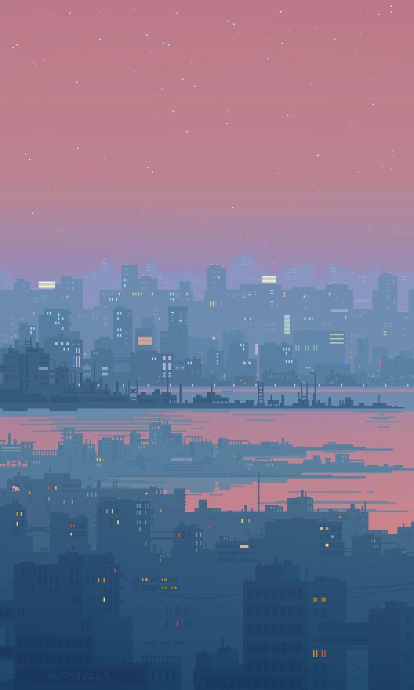 Drawn pixel art iphone Ideas on Anime Pinterest Art