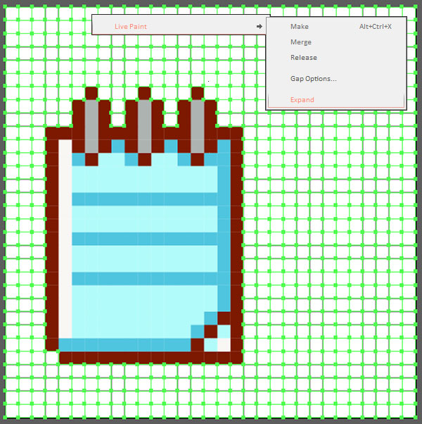Drawn pixel art laptop Your line in to How