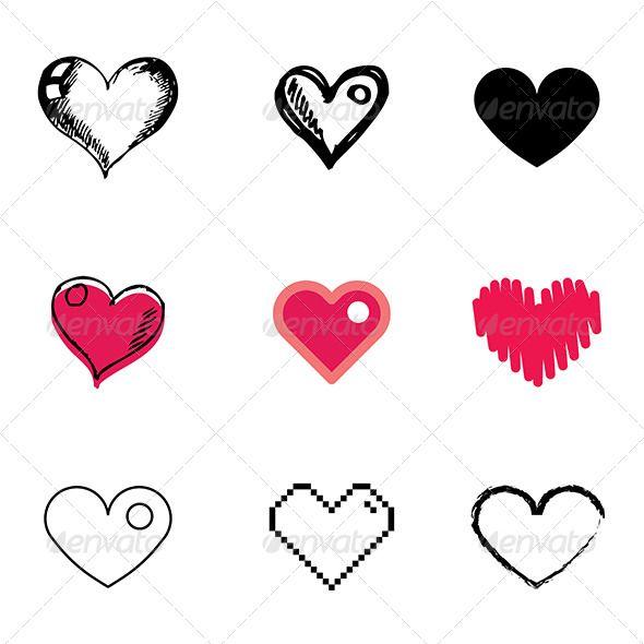 Drawn pixel art love About Art Heart Set Camera