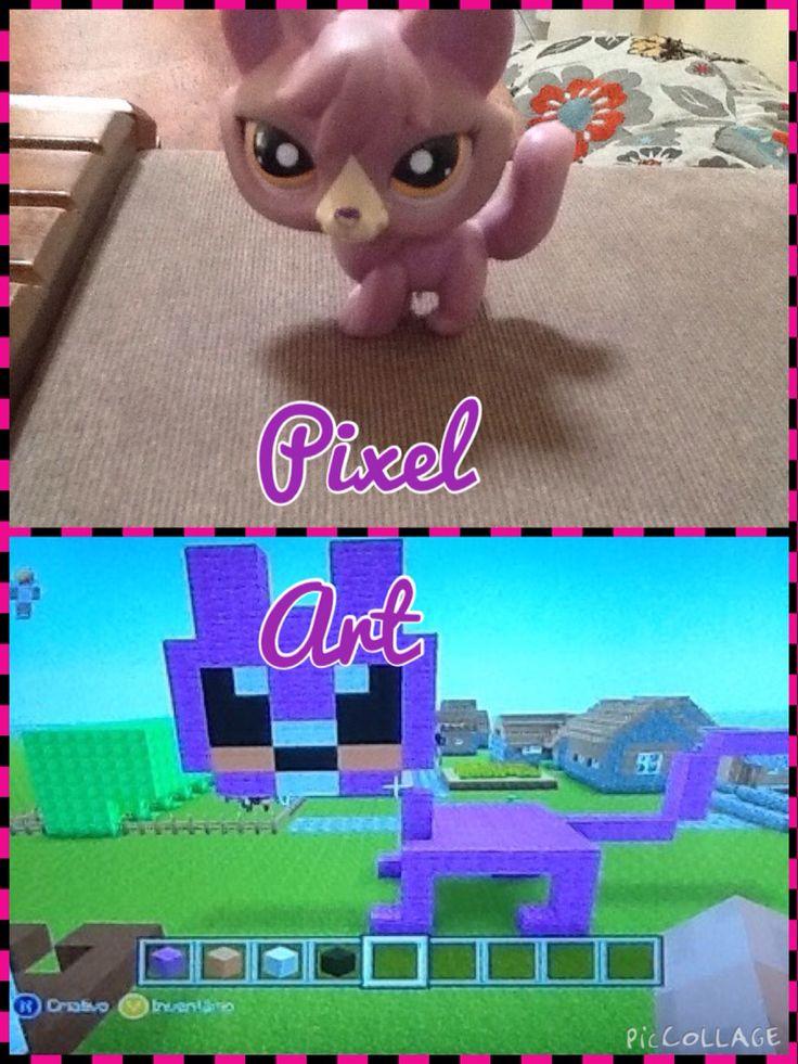 Drawn pixel art lps #13