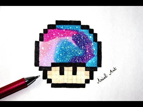 Drawn pixel art lps #14