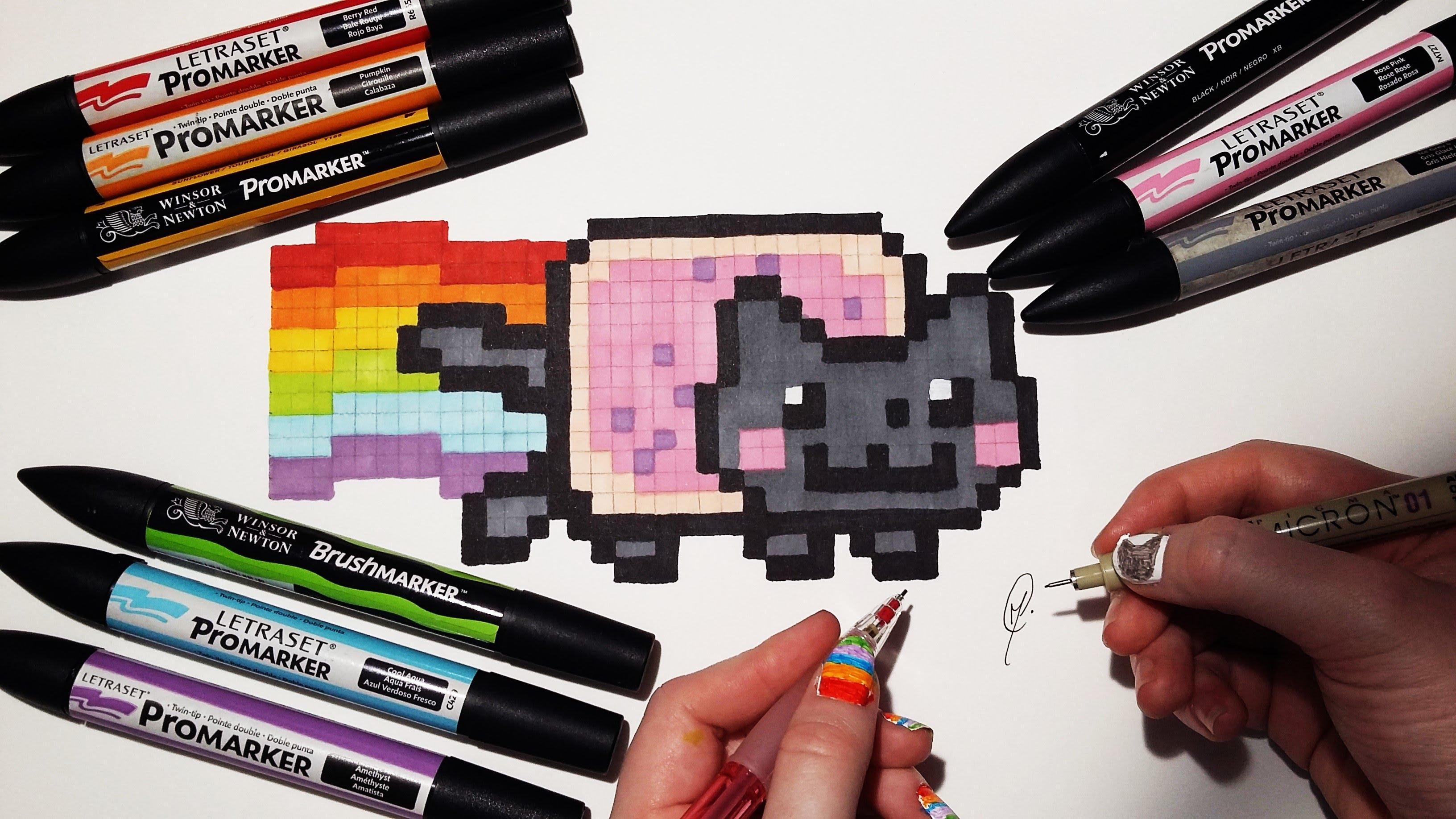 Drawn pixel art lps #8