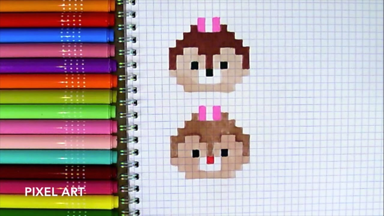 Drawn pixel art lps To draw How CHIP ART