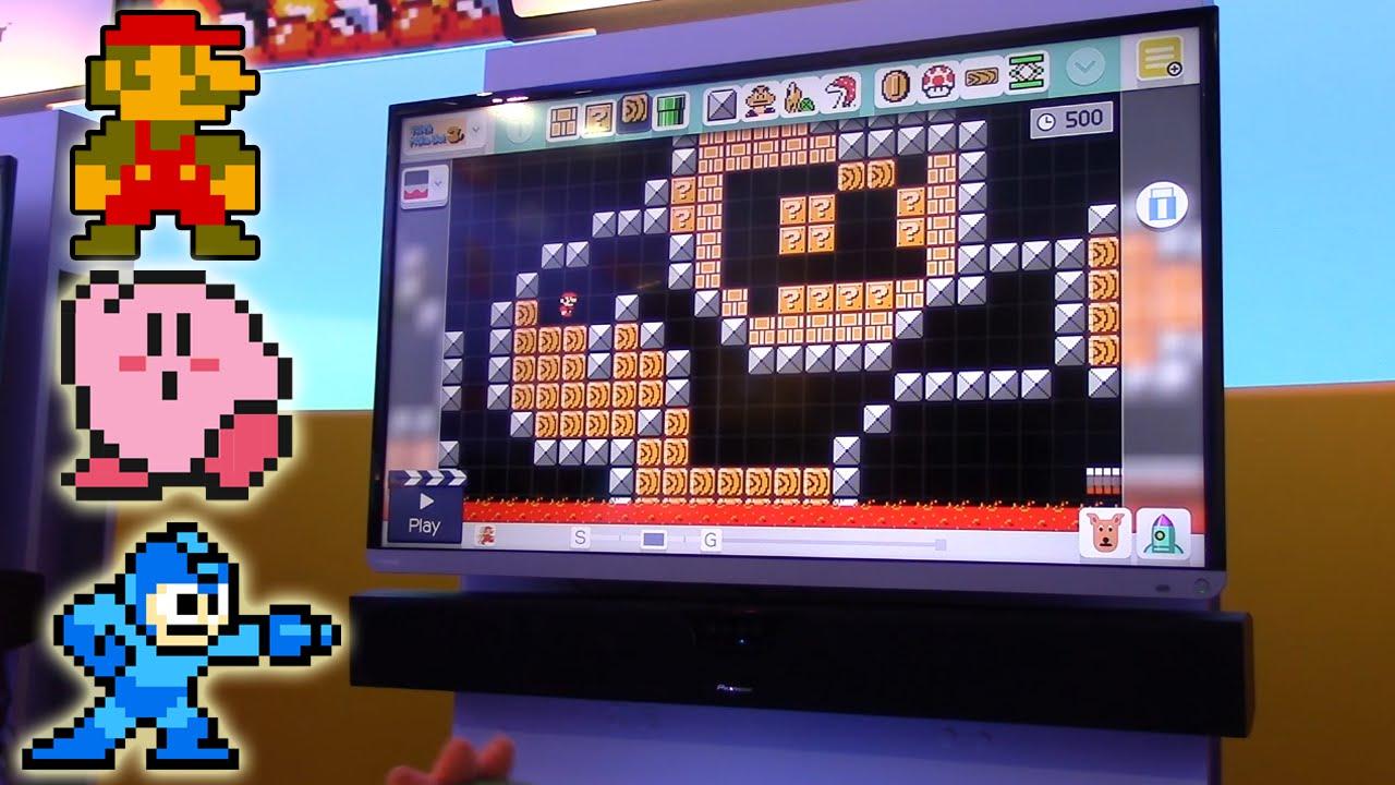 Drawn pixel art mario level Blocks Drawing E3 characters Maker