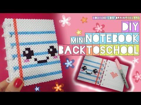 Drawn pixel art mini Back pixel notebook art ideas