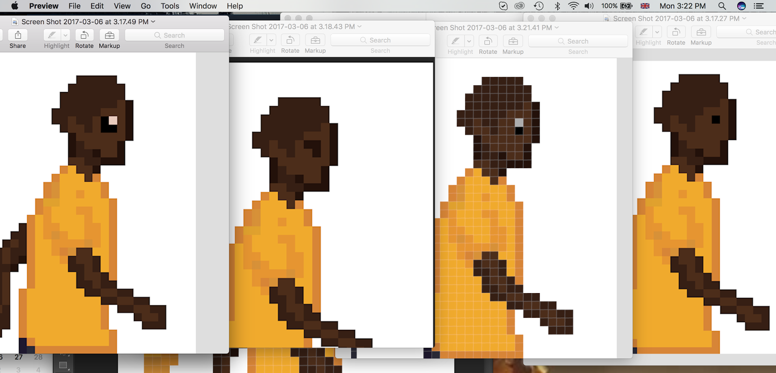 Drawn pixel art modern The right game and ethnicity