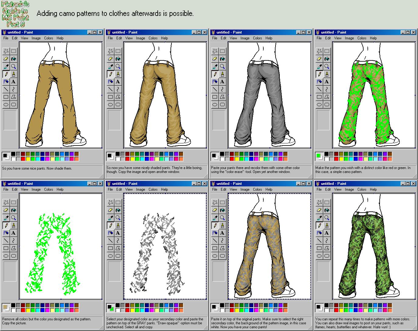 Drawn pixel art ms paint MS 8 Part Plutonia DeviantArt