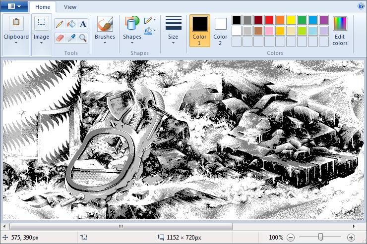 Drawn pixel art ms paint Paint & :: ms art