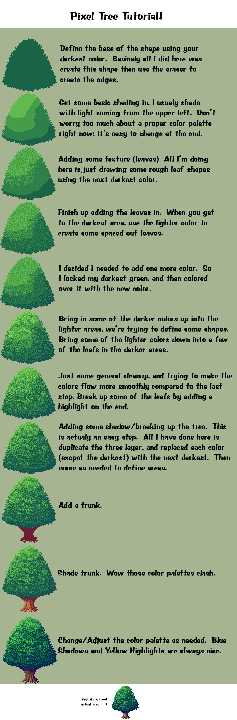 Drawn pixel art original ~D Tutorial on Art Pin