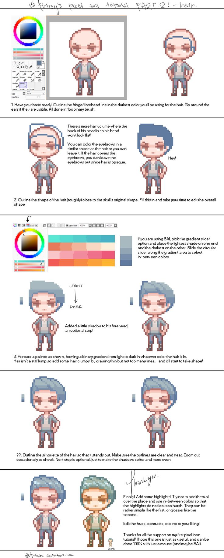 Drawn pixel art outline Best tutorial 9 art about