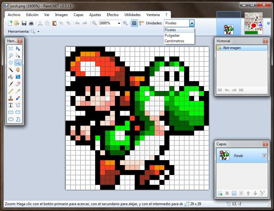 Drawn pixel art paint net #14