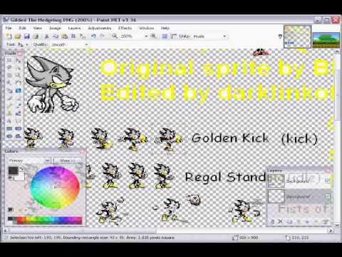 Drawn pixel art paint net #8