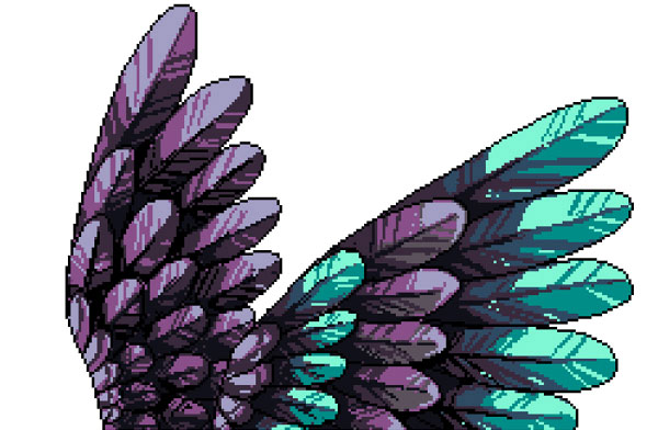 Drawn pixel art paint tool sai Finished Both Paint are Create
