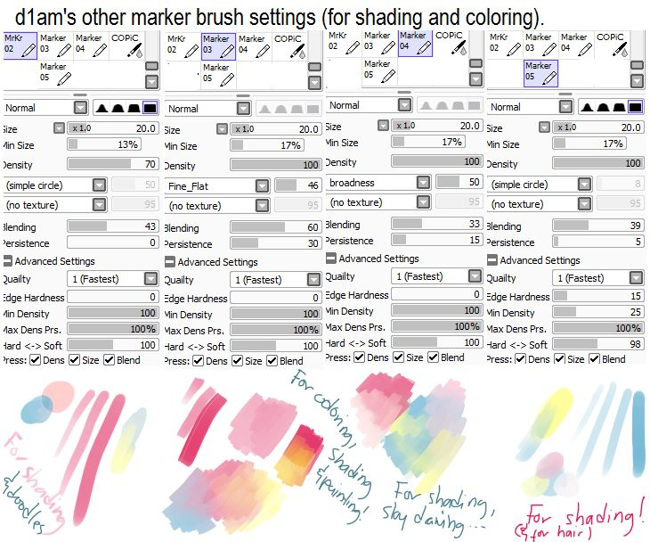 Drawn pixel art paint tool sai Sai share Pinterest from brushes