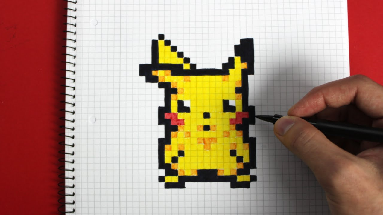 Drawn pixel art pixal YouTube to draw How