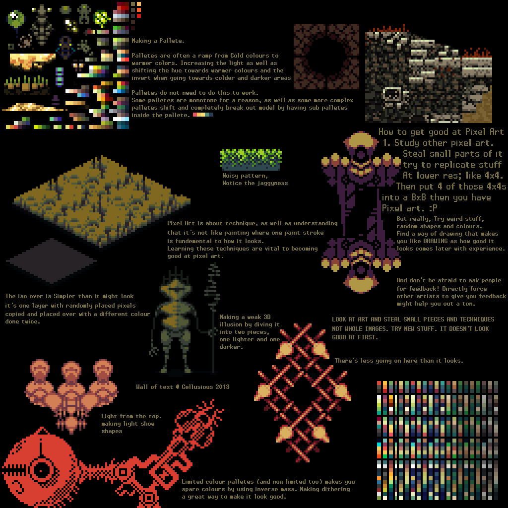 Drawn pixel art pixel animation Com Cellusious on by on