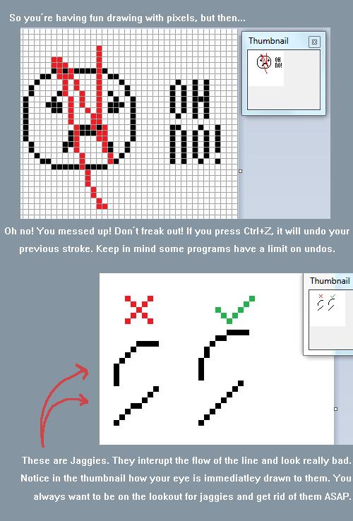 Drawn pixel art pixel eye TUTORIAL to of get the