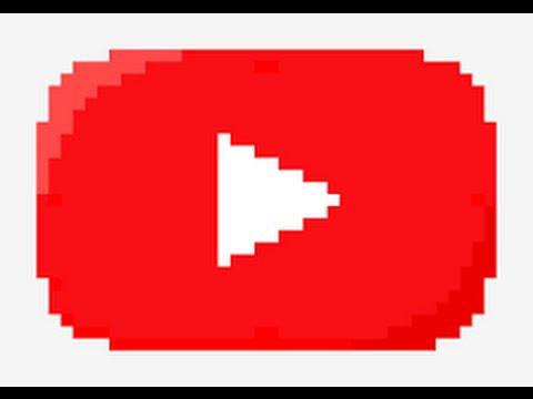 Drawn pixel art pixel icon Draw How To YouTube Logo
