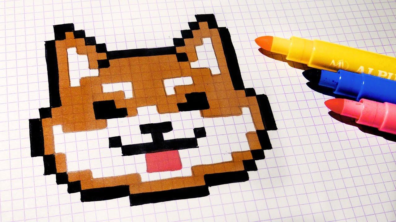 Drawn pixel art poxel To Draw Kawaii Handmade How