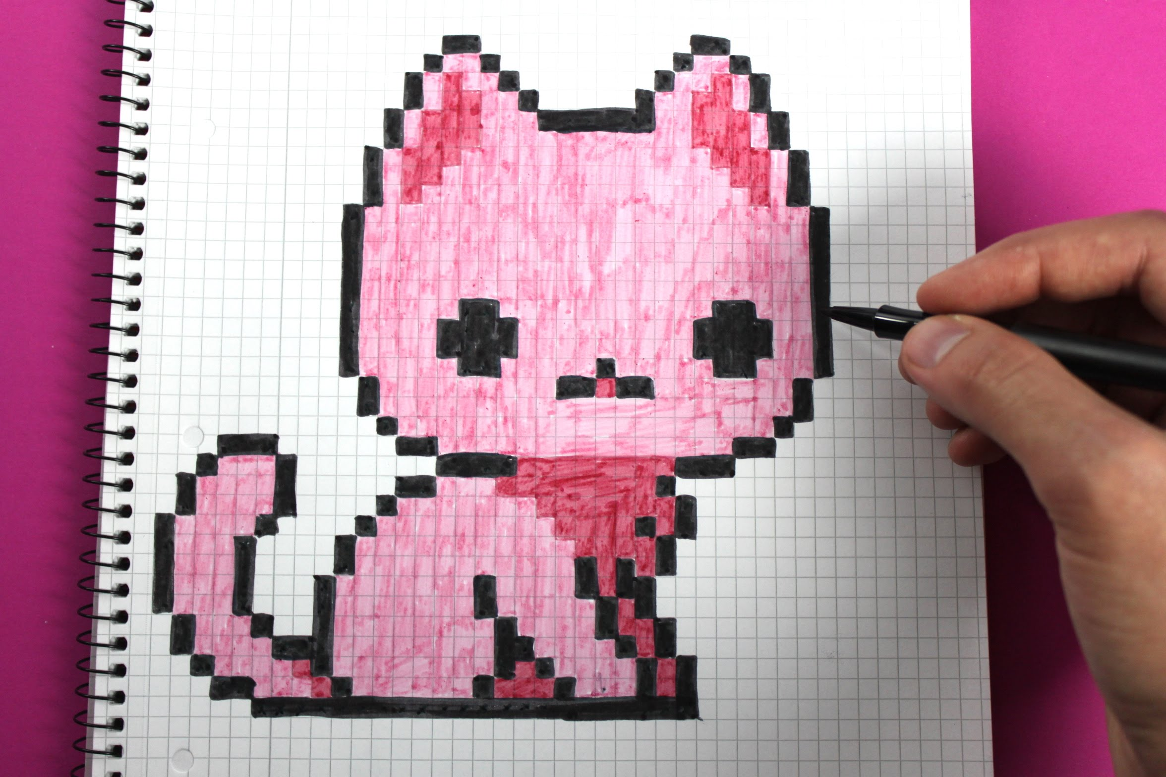 Drawn pixel art poxel To draw a Handmade How