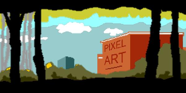 Drawn pixel art professional Using PHOTO CorelDRAW Suite to