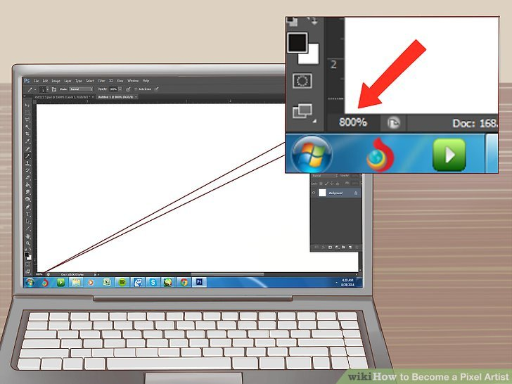 Drawn pixel art professional WikiHow Image Pictures) Become a