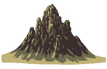 Drawn pixel art rock Stuff Art Drawing Mountain Art