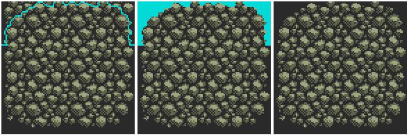 Drawn pixel art rock A pixel Designing set Now