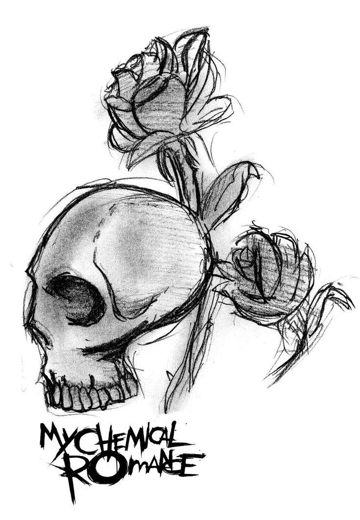 Drawn pixel art romantic  you Skull on My