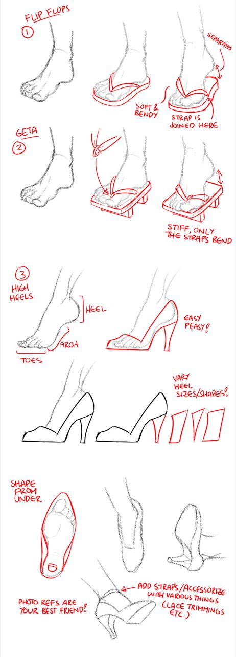 Draw geta Best drawing shoes