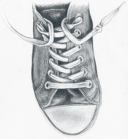 Drawn shoe artwork Shoe Project ideas and this