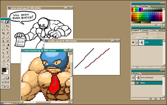 Drawn railroad pixel art Art Make Games 1 Tutorial