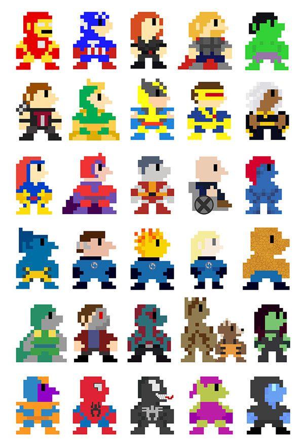 Drawn pixel art simulacrum Images best Pinterest 14 art