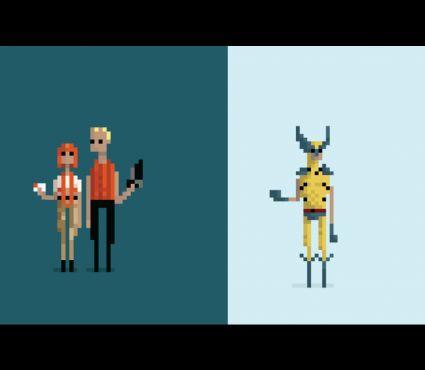Drawn pixel art simulacrum About images best 14 Cezek