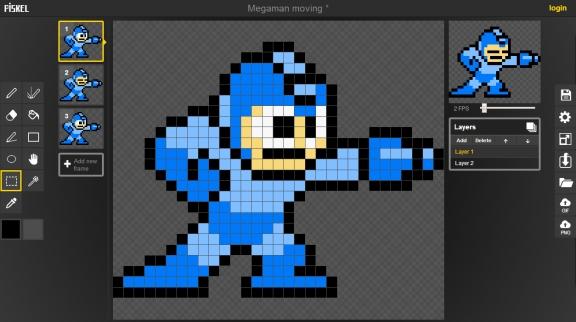 Drawn pixel art sprite Developers! Pixel Art: Tools Are